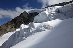 Seracs (Riverman___) Tags: alps switzerland val pignedarolla montblancdecheilon valais mountaineering outdoors sky mountain glacier hill hike alpinism scrambling climbing climb valdherens evolene arolla
