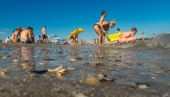 Holiday at the sea (Juergen Huettel Photography) Tags: blue jhuettel sea meer beach strand water holiday shore sky