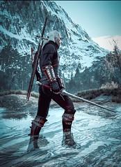 The Witcher 3 2016.09.22 - 00.42.57.76 (araik_kratos) Tags: game water mountains geralt witcher3