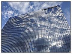 Penn Medicine side (BlogKing) Tags: upenn universitycity clouds refelctions
