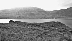 Loch Arklet and Beinn Uamha (brightondj - getting the most from a cheap compact) Tags: inversnaid trossachs scotland thirdwalk loch water mountains locharklet bw beinnuamha summer2016 holiday summerholiday uk britain ukholiday