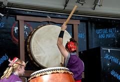 St. Louis Osuwa Taiko (Adventurer Dustin Holmes) Tags: 2016 japanesefallfestival event events performance performances concert concerts springfieldmo springfieldmissouri stlouisosuwataiko drummers people musicians