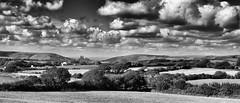 The Purbecks. (Greatdog) Tags: dorset thepurbecks landscape clouds cloudsstormssunsetssunrises blackandwhite uk 2016