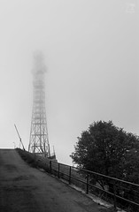 Signals Fading (Zano91) Tags: clouds sky grass panorama contrast rain nikon d7100 trees tree foreground background outdoor sigma 1835mm art mountain mountains mount penice vibrant cloud meteo landscape bw bn black white monochrome mood moody mystery blackandwhite mist