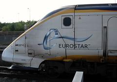 Front end view of powercar 3214 at Ebbsfleet Intl Station. (DesiroDan) Tags: highspeed1 eurostar eurostarclass373 class373eurostar tgvtmst uktrains ukelectricunits highspeedtrainsintheuk britishrailclass373