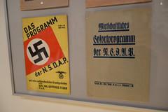 Programs of the Nazi party (quinet) Tags: 2013 allemagne deutschland germany hakenkreuz munichstatemuseum mnchen nsdap rassismus stadtmuseummunich nazi racism racisme svastika swastika munich bavaria