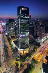 Taikoo () Tags: taikoo china cbd canton citynight guangzhou tianhe skyline skyscraper sunset