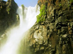 Below Iguazu waterfalls (Germn Vogel) Tags: latinamerica southamerica nature water argentina rock waterfall iguazu misiones