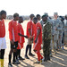 U.S., Botswana forces attend soccer game to promote HIV awareness