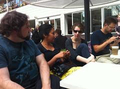 Chris, Rifa, Anna, and Ben