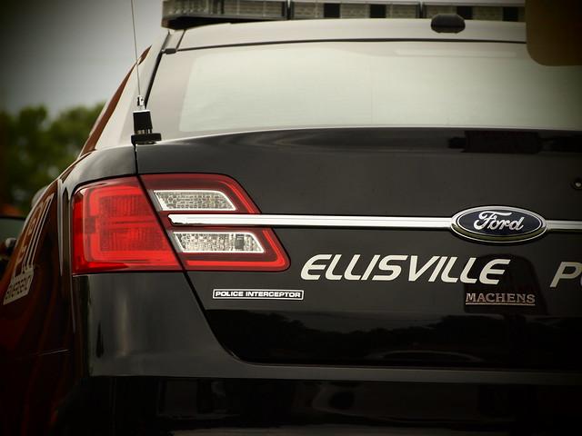 new missouri policecar fordtaurus policeinterceptor weststlouiscounty ellisvillemo newpoliceinterceptor