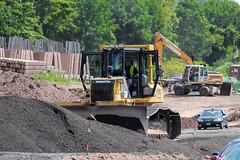 Komatsu D61 PX (Vinny Schiano) Tags: nyc ny cat truck bucket construction caterpillar r dozer trucks statenisland mack komatsu bulldozer peterbilt excavator kenworth excavators 379 t800 nycconstruction dumptrailer peterbilt379 kenwortht800 mackr komatsupc490