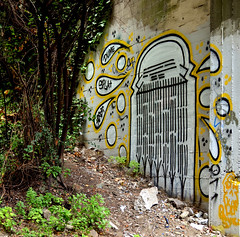 rodi (thesaltr) Tags: sf sanfrancisco art train graffiti rails bayarea rodi urbex y013 thesaltr