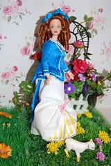 Petit dejeuner a l'herbe (alya12) Tags: barbie mackie diorama collector