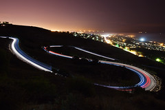 190 Seconds (Shawn S. Park) Tags: california road canon losangeles windy 5d shawn palosverdes 1635 eos5dmarkii
