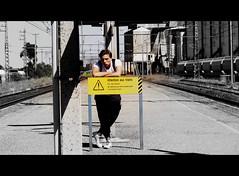 "PLAY ""cadavre exquis"" ""exquisite corpse"" - Bloody train! (fafaru mitihue) Tags: summer france film station train break gare surrealism sommer bahnhof shooting script pause t southoffrance tournage exquisitecorpse surrealisme aufnahme cadavreexquis surrealismus vorzglicheleiche"