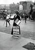 Trafalgar Square (Leonard Bentley) Tags: uk london traffic trafalgarsquare pedestrians metropolitan admiraltyarch suffragette solicitorgeneral canonrow cannonrow morleyshill trafalgarsquareundergroundstation votesforwomennewspaper sirrufusisaacs