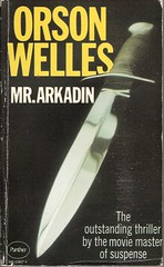 Mr Arkadin (Covers etc) Tags: design knife paperback cover blade bookcover 1970s panther orsonwells
