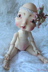 makeup and body blushing commission for Alden (heliantas) Tags: doll body makeup bjd kane humpty dumpty commission blushing nefer