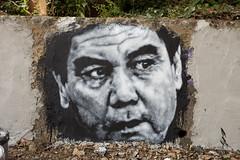 Gurbanguly Berdimuhamedow, painted portrait img_2323