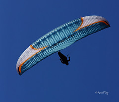 Paragliders ~Sam Crater~ (Ron1535) Tags: golden colorado sail roll pitch paragliding soaring glider lookoutmountain thermals mtzion yaw freeflight freeflyer flexiblewing glideraircraft soaringaircraft ramairdesign