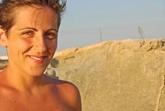 Sorridi al sole (Valina's Photography) Tags: sea sun me smile island mare io agosto sicily sorriso sole luce vacanza sicilia 2012 isola favignana egadi calaazzurra nikond80