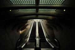 Luik - Trainstation Guillemins - Lige (2) (pwsonline) Tags: station architecture nikon bahnhof wideangle trainstation luik santiagocalatrava architectuur lige thalys hsl lttich nmbs guillemins belgischespoorwegen d700 nikond700 pwsonline sigma1224mmexdghsm