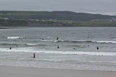 Surfers in Lehinch (Mud_skipper) Tags: ireland beach surfing lehinch