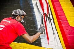 2012 08 26 - 7884 - DC - DC Murals at Ben's Chili Bowl (thisisbossi) Tags: usa streetart art graffiti washingtondc dc nw unitedstates northwest murals spraypaint alleys allies aniekanudofia