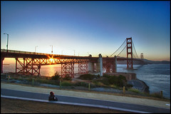 A Days End (Coasterluver) Tags: sanfrancisco sunset landscape goldengatebridge goldengate hdr coasterluver