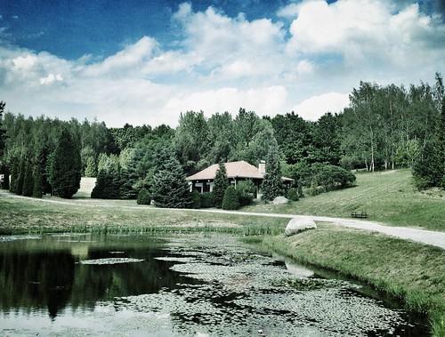 House in Arborétum Mlyňany