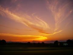 CIMG1166 sunset (pinktigger) Tags: sunset italy countryside italia country friuli fagagna feagne
