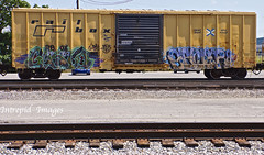 gasto  -  gener8 (INTREPID IMAGES) Tags: street railroad abstract color art train bench graffiti fan fry paint steel painted graf tracks rail railway trains tags images railcar intrepid writer boxcar graff railfan freight height rolling gaf ffl gr8 paintedtrains fr8 railbox gasto benching railroadgraffiti paintedsteel railer gener8 intrepidimages