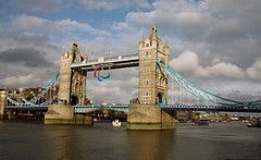 London Paralympic Opening day Tower Bridge (Martin D Stitchener PiccAddo Photography) Tags: uk england london photography photo flickr britain gb olympics paralympics london2012 twitter martinstitchener dxhawk