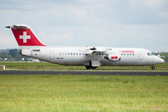 HB-IXP (GerardvdSchaaf) Tags: 146 bae hbixp swissair aircraft airliner airplane schiphol aviation eham