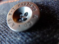 A/B P.I Hagberg Jeans Selvedge 19oz (milone) Tags: macro fuji indigo ab jeans pi denim x10 selvedge 19oz hagberg