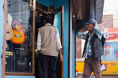 Follower (Turn2PageLIFE) Tags: street people india shop shopping asia guitar candid streetphotography streetportrait cap streetphoto shillong meghalaya candidportrait candidphoto candidphotography guitarshop streettogs