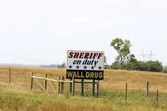 Wall Drug Billboard (the_mel) Tags: wall southdakota highway billboard advertisement drug sheriff 90 i90 walldrug