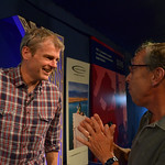 Mark Haddon chats to audience