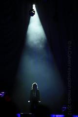 Olivia Newton John performs at the PNE