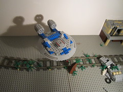 Lego Alien Invasion (jacktheaweome10) Tags: lego alien invasion brickarms invasin jacktheawesome10