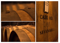 Sevenhill Wine Cellar (Y K Fong) Tags: wood red white collage oak clare wine barrel valley cellar wines sevenhill