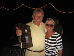 Olli, Margie, and the Al Keskinen Memorial Trophy
