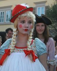 I am a little girl!! (hatschiputh) Tags: red girl germany blond venezia venedig unschuld venezianischemesse ludweigsburg