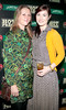 Eva Lynch and Andrea Keogh at the Jameson Launch Party for the Hot Press Yearbook 2012 at The Workman's Club,Dublin..Picture Brian McEvoy