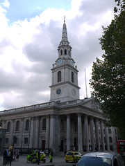 St Martin-in-the-Fields (Worthing Wanderer) Tags: summer london sunny august olympicgames london2012 mayoroflondondiscoverystrolls