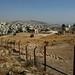 Ruínas de Jerash por detrás da cerca