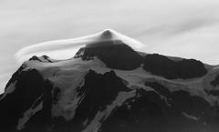 Shuksan Lenticular (sunrisesoup) Tags: mount mountain shuksan morning lenticular september ptarmiganridge cloud northcascades 2012 sunrisesoup artistpoint glacier veil scarf muse
