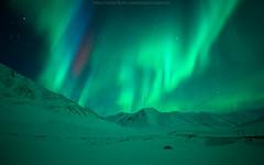 When The Light's Gone Wild (Rawinch) Tags: red snow green alaska stars purple aurora borealis daltonhighway atigunpass northernlight mountainridge