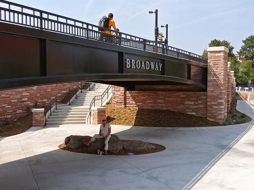 Photo - Brand new Broadway underpass